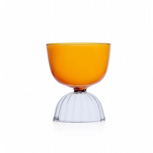 Milanese Glass - Skirt Glass - Water - Amber